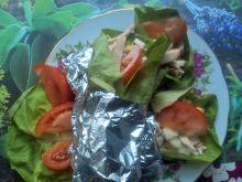 Wrapy z sałaty