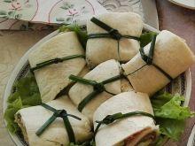 Wrapy z szynką i warzywami na karnawałowy stół