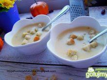Wspaniała zupka serowa