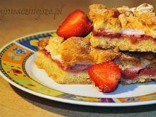 Wyborne ciasto z truskawkami
