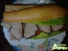 Wypasiona kanapka z polędwica wg brata