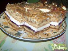 Wyśmienite ciasto z orzechami