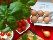 Wytrawna tarta z jajkami i boczkiem