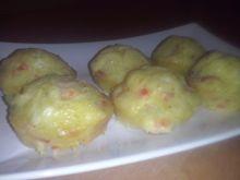 Wytrawne muffiny z mozzarellą