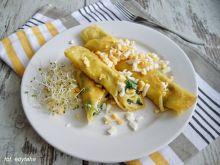 Wytrawne naleśniki kukurydziano tapiokowe