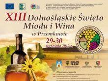 XIII Dolnośląskie Święto Miodu i Wina w Przemkowie