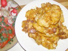 Polędwiczki z kurczaka z serem