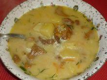 Zabielana zupa kurkowa