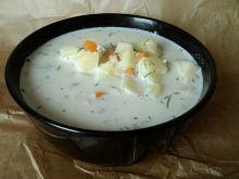 Zabielna zupa ziemniaczana z koperkiem