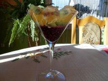Zacierki na słodko  z owocami