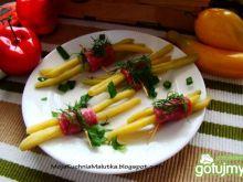 Zakąska z fasolki szparagowej