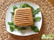 Zapiekana ciabatka z serem pleśniowym