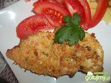 Zapiekana pierś z kurczaka z serem