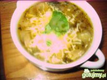 zapiekana zupka cebulowa z serem żółtym
