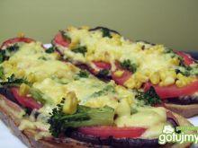 Zapiekańce z warzywami i szynką