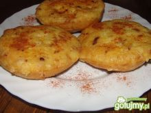 Zapiekane bułki z masą jajeczno- serową