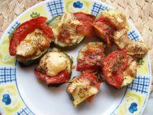 Zapiekane cukinie z serem i pomidorami