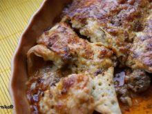 Zapiekane kuleczki mięsne w naleśnikach