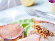Zapiekane piersi kurczaka nadziewane warzywami