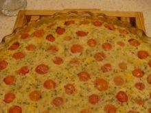 Zapiekane pomidorki z kukurydzą