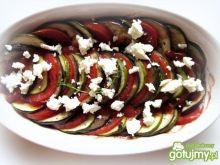 Zapiekane warzywa w pomidorach