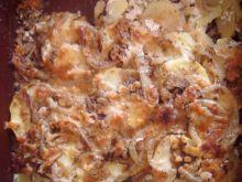 Zapiekane ziemniaki z octem balsamicznym