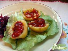 Zapiekane ziemniaki z parówką