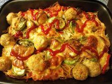 Zapiekanka a'la spaghetti z pulpecikami