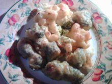 Zapiekanka brokułowo kalafiorowa