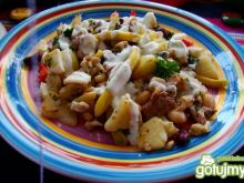Zapiekanka fasolowa z ziemniakami