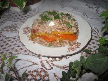 Zapiekanka gryczana z papryką