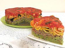 Zapiekanka makaronowa z mięsem