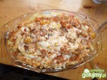 Zapiekanka makaronowa z sosem