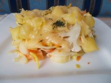 Zapiekanka makaronowa z warzywami