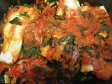 Zapiekanka makaronowo - rybna