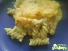 Zapiekanka makaronowo - serowa