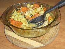 Zapiekanka rybkowo-warzywna (dla 2 osób)