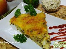 Zapiekanka rybno pieczarkowa