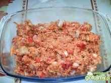 Zapiekanka rybno-ryżowa