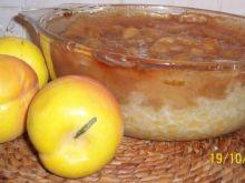 Zapiekanka ryżowo-jabłkowa