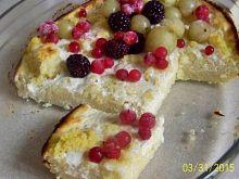 Zapiekanka śniadaniowa z kaszy jaglanej i twarogu