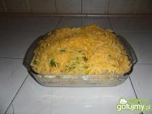Zapiekanka warzywno-serowa z kurczakiem