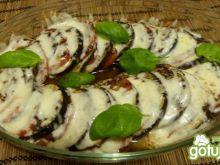 Zapiekanka z bakłażanem i pomidorem