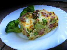 Zapiekanka z brokułem i makaronem