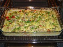 Zapiekanka z filetem wieprzowym i ziemniakami