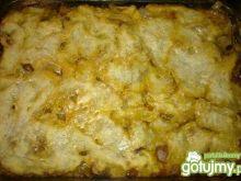 Zapiekanka z gotowanych ziemniaków