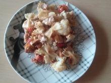 Zapiekanka z kalafiorem i kurczakiem
