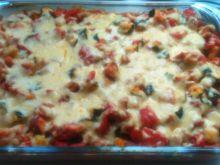 Zapiekanka z kiełbasy z warzywami