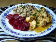 Zapiekanka z kurczaka - garam masala