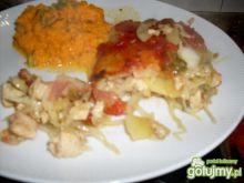 Zapiekanka z kurczakiem i ziemniakami